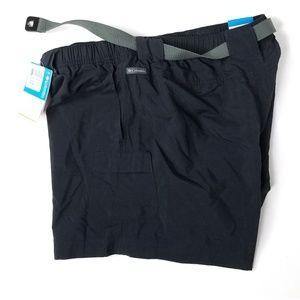 Columbia Shorts - Columbia Ladies Sandy River Black Cargo Shorts $45
